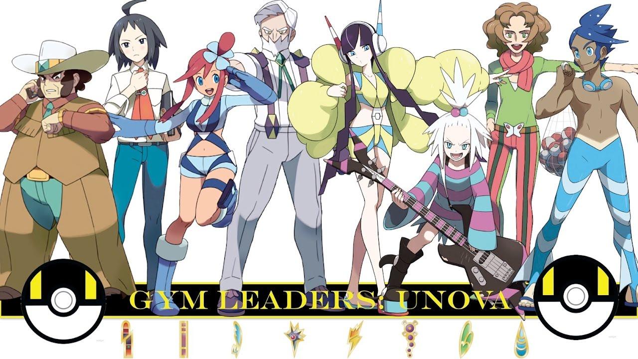 pokemon gym leaders porb