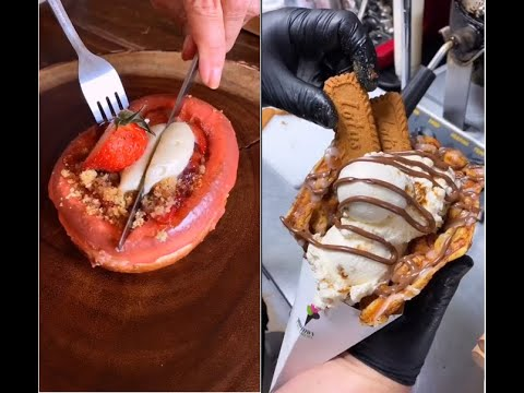 THE MOST SATISFYING FOOD | DESSERT#1 | CRAVE FOOD COMPILATION