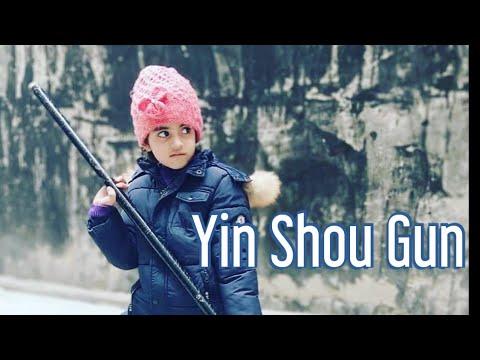 Yin Shou Gun | Shaolin Bo Staff | Yin hand Staff | Shaolin Kung Fu | Kids Martial Arts