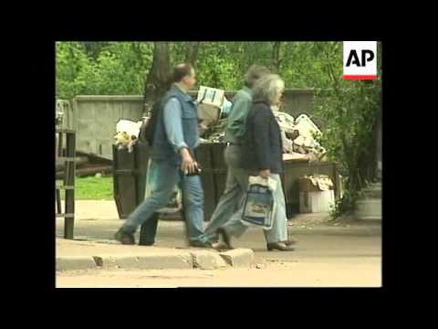 RUSSIA: MOSCOW: CLEAN UP PROMISED FOR ENVIRONMENT DAY