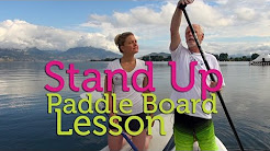 Beginner Lesson in Stand Up Paddling (SUP) from the Inspirational Bob Purdy