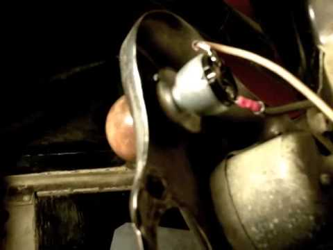 Model A Ignition Switch Replacement on