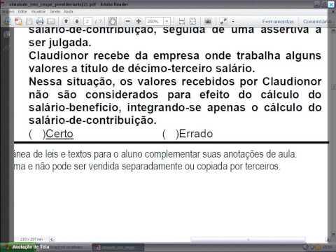 Concurso INSS | Dica 73 - Direito Previdenciário von YouTube · Dauer:  4 Minuten 6 Sekunden