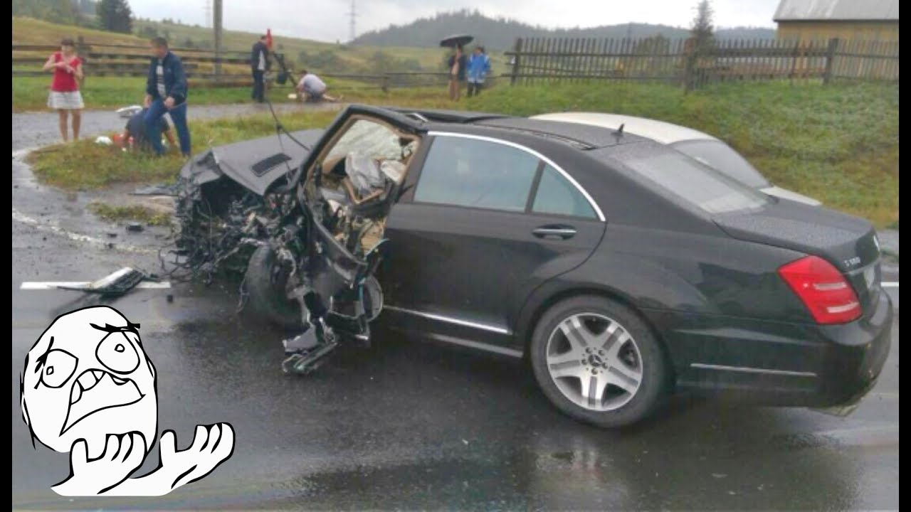Ed Mercedes Benz Crash Compilation 2017 3 Best Accident Ml E Cl G S Gl