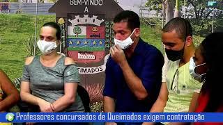 Professores concursados de Queimados exigem convocação imediata!