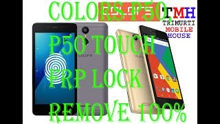How To Remove Frp Lock On Colors P85