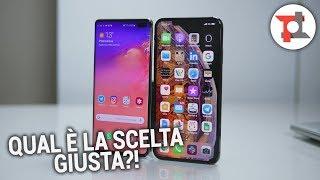 Samsung S10+ e iPhone XS Max a confronto | ITA da TuttoTech