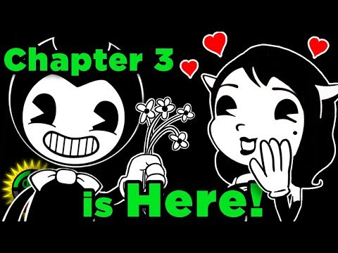 Alice Is NO ANGEL!  Bendy and the Ink Machine Chapter 3