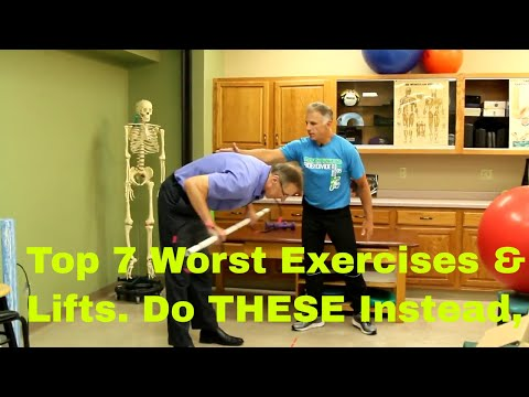 Top 7 Worst Exercises/Lifts-You Should NEVER Do. Do THESE Instead.