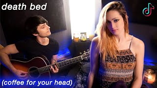 Baixar death bed (coffee for your head) - Powfu ft. beabadoobee (Cover) Jaclyn Glenn & Future Sunsets
