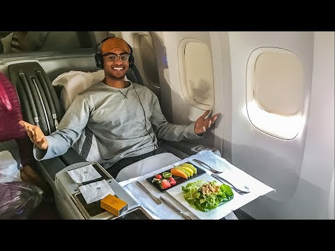 BUSINESS CLASS FLIGHT ON WORLDS BEST AIRLINE! | QATAR AIRWAYS |TRAVEL VLOG