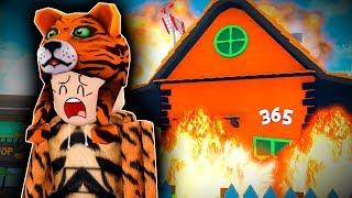 Roblox Daycare - DESTROYING TINA'S HOUSE !? !? (Roblox Roleplay)