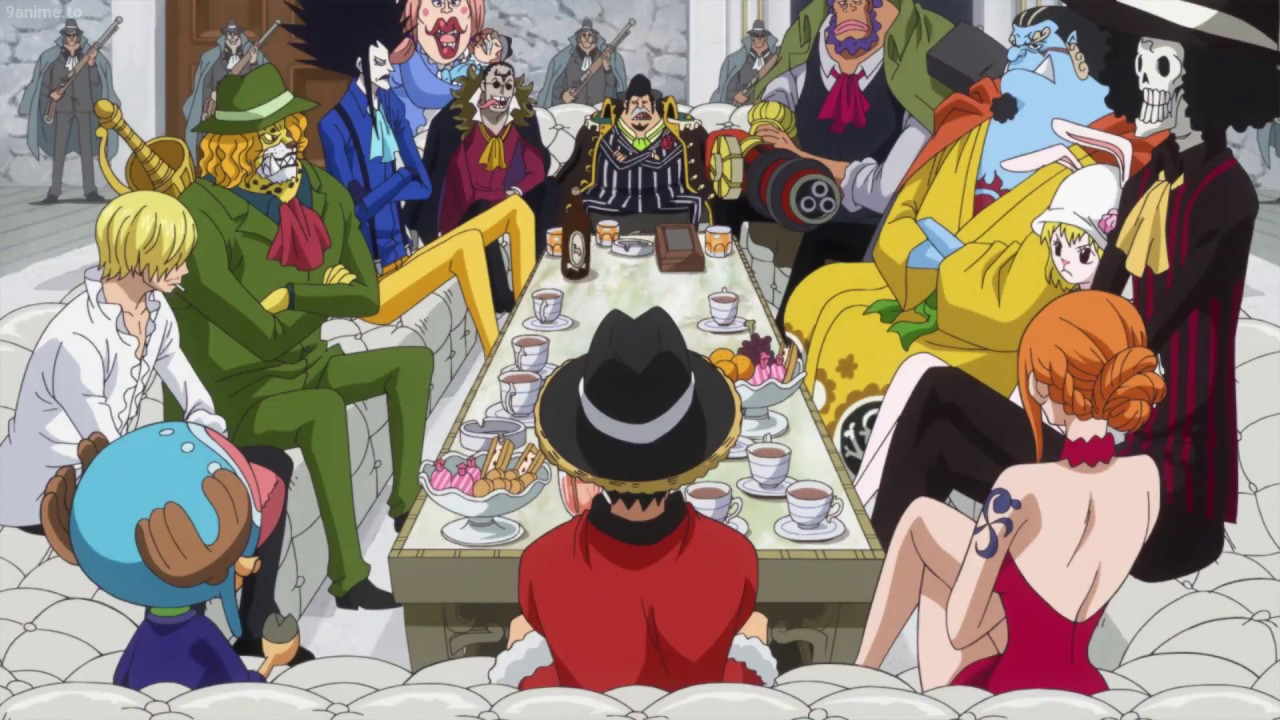 One Piece Ep 827 Straw Hats Luffy Meet Bege Youtube