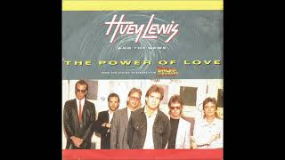 Huey Lewis And The News - The Power Of Love (Single Version) - Vinyl recording HD