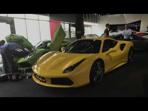 UAE Dubai HyperCars ShowRooms 2017