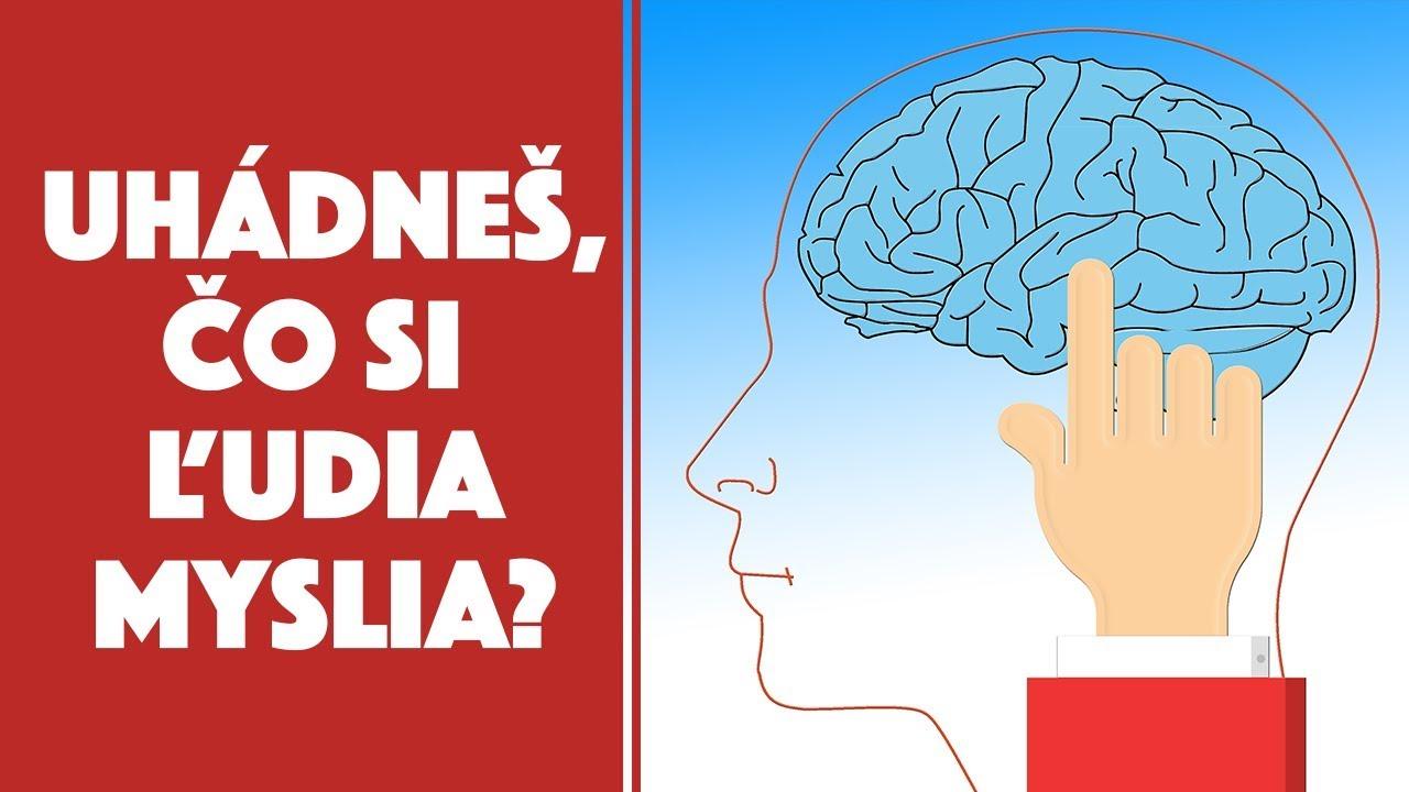Dokážeš ľuďom čítať myšlienky? | Otestuj sa