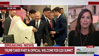 At G20 summit, Russia trolls Trump for skipping meeting with Putin over his Michael Cohen problems