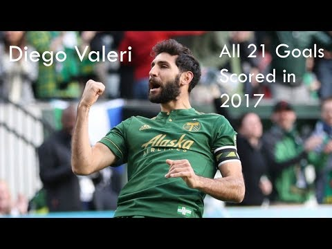 Diego Valeri - All 21 Goals Scored in 2017 - MVP
