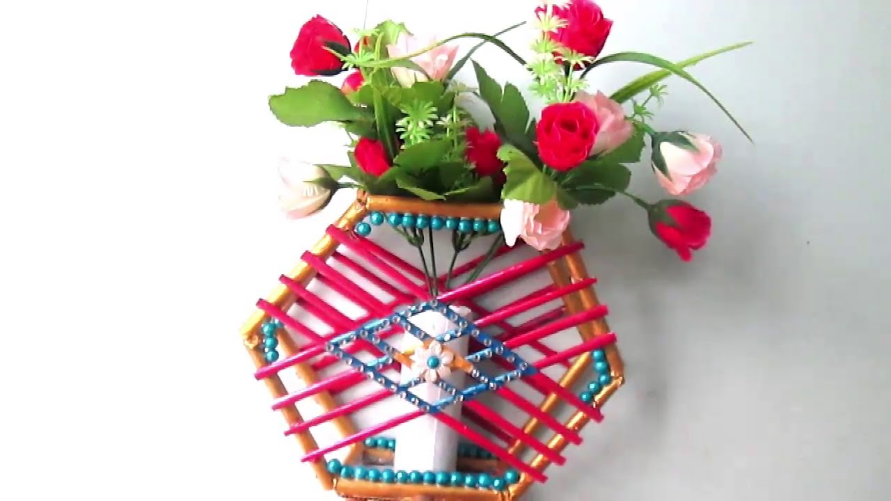flower vase best out of waste with Watch on Wind Chimes Made Out Of Waste Plastic Bottles likewise Diy Carry Bag Flower Sticks Making Flower Using Shopping Bag additionally Indoor Plant Stands likewise Ariana Giant Paper Flower moreover Creative Ideas Get Best Waste Materials.