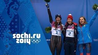 Video Skeleton - Women's Heats 3 & 4 - Elizabeth Yarnold Wins Gold | Sochi 2014 Winter Olympics download MP3, 3GP, MP4, WEBM, AVI, FLV Agustus 2017