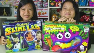 Jelly Monster and Slime Lab