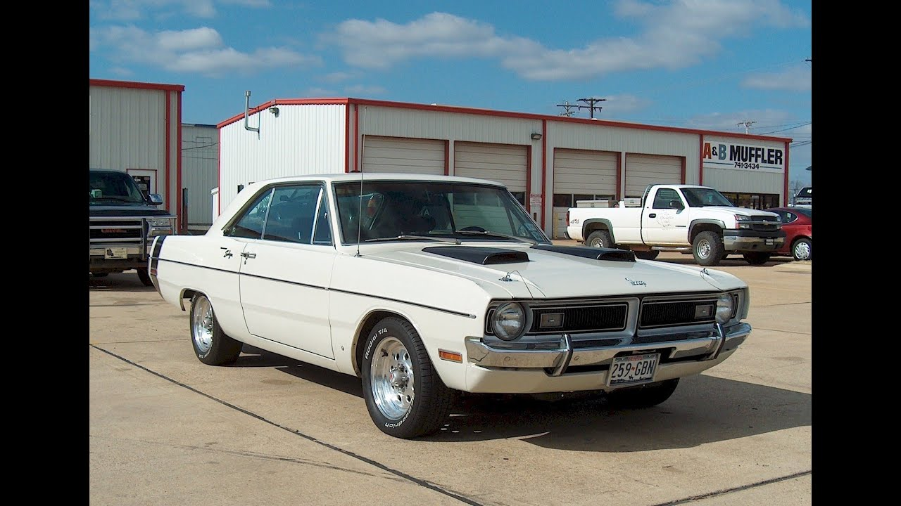 76 Dodge dart - YouTube