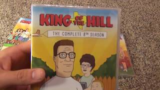 King of the Hill Seasons 7-10 DVD Unboxing from Olive Films