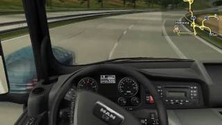 German Truck Simulator - Gameplay (HD)