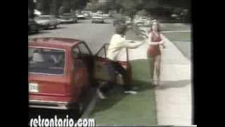 Creepy Sanyo car stereo commercial 1979