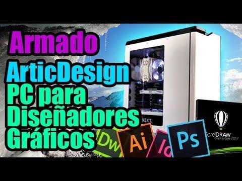 """ARMADO PC para diseñadores graficos 2D """"Artic Design"""" ft.Gigabyte Z270X Designare - Droga Digital"""