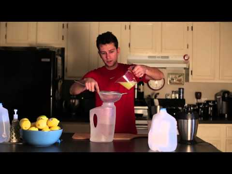 How to make the lemonade for the master cleanse