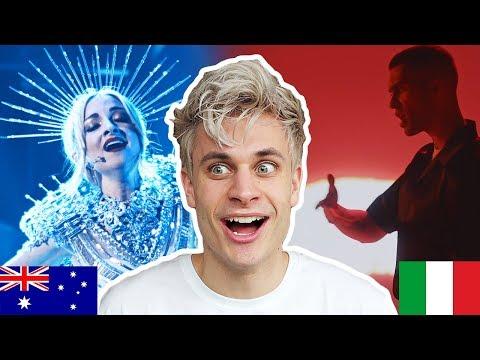 REACTING TO EUROVISION 2019 - Australia, Israel, Italy, Cyprus, Greece, Etc