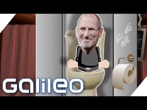 Was hatte Steve Jobs mit Toilettenwasser zu tun?   Galileo Lunch Break