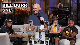 Bill Burr SNL Monologue Reaction/Review