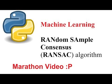 Machine Learning: Random Sample Consensus algorithm