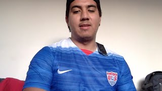 Aliexpress soccer jerseys review (USA national soccer team 2015 and AS Roma Francesco Totti)