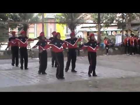 Senam Pramuka : SMP N 1 Kersana Juara 1 Lomba Senam Kwaran Kersana