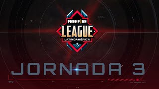Free Fire League 2020 | Jornada 3 | Grupo A