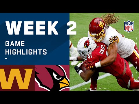 Washington Football Team vs. Cardinals Week 2 Highlights | NFL 2020