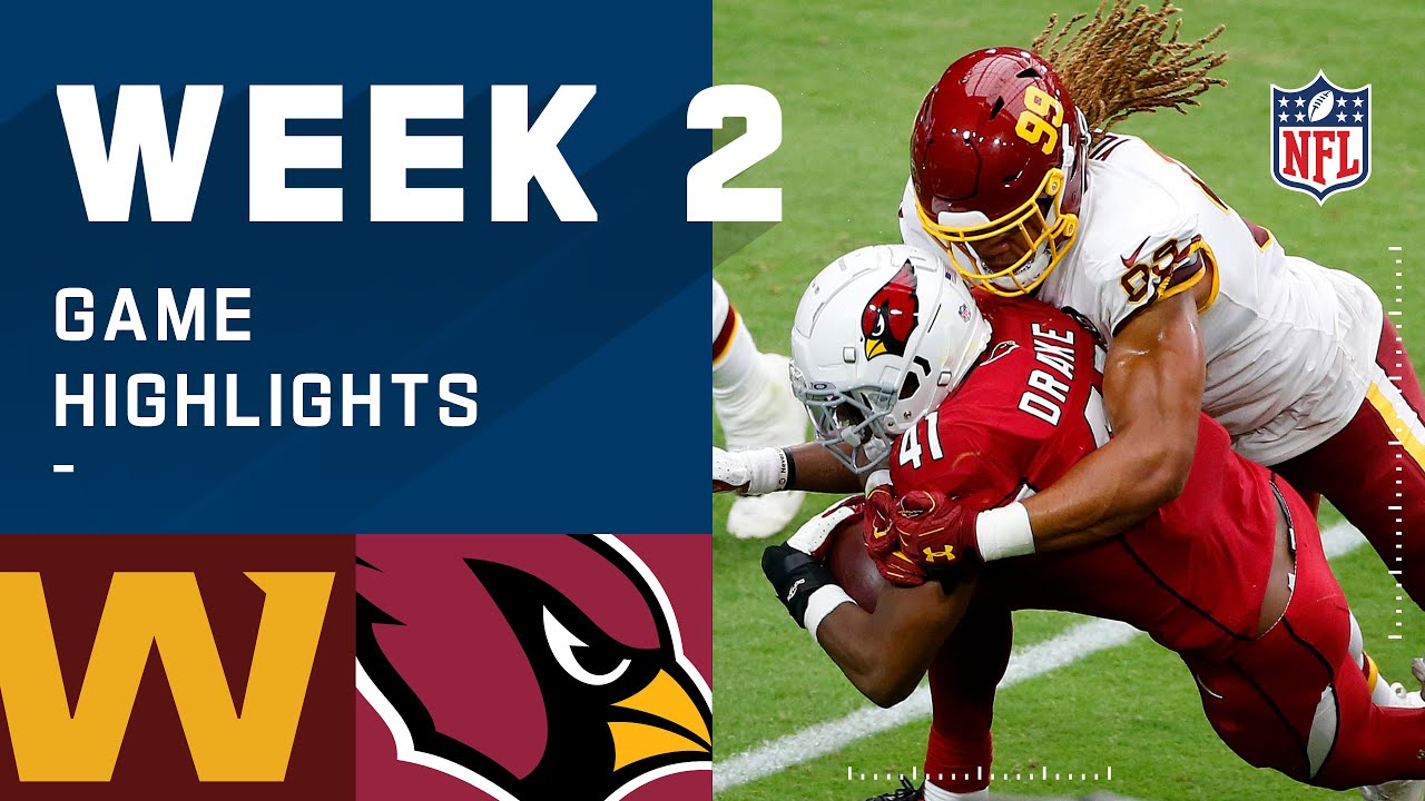 Washington Football Team vs. Cardinals Week 2 Highlights | NFL 2020