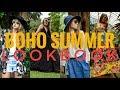 BOHO INSPIRED SUMMER LOOKBOOK