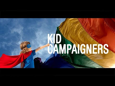 Kids on the campaign trail For and Against same-sex marriage - The Feed