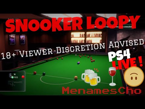 MenamesCho's Live Ps4 - Pure Pool Snooker - 18+ Saturday Evening Show - 10th Feb 2018 - UK
