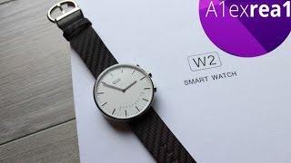 Elephone W2 обзор стильных смарт часов с сапфировым стеклом.