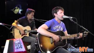 "James Blunt ""Bonfire Heart"" Live Performance"