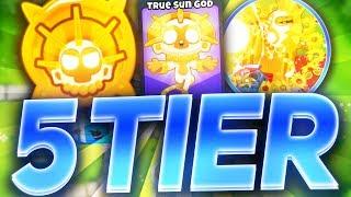 Bloons TD6 - Super Monkey *5th tier* (TRUE SUN GOD)