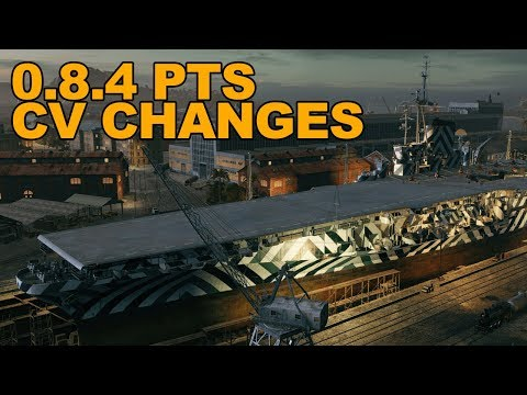 0.8.4 PTS Greece, CV Changes - World of Warships