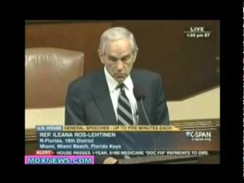 Ron Paul Defends WikiLeaks