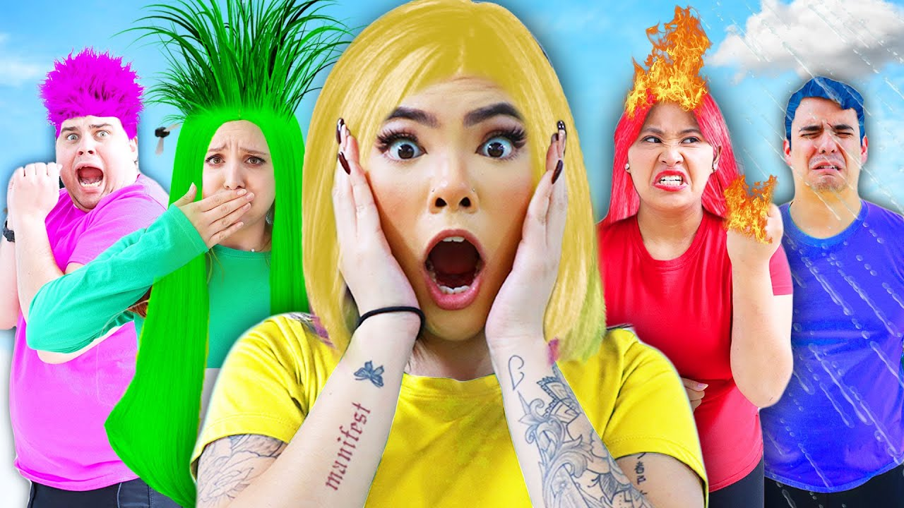 MY EMOTIONS CONTROL ME | IF EMOTION WERE PEOPLE, INSIDE OUT IN REAL LIFE BY CRAFTY HACKS