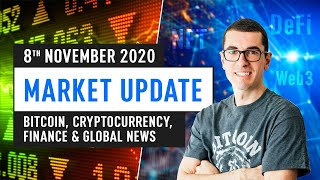 Bitcoin, Ethereum, DeFi & Global Finance News – November 8th 2020